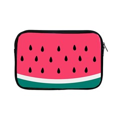 Watermelon Red Green White Black Fruit Apple Ipad Mini Zipper Cases by Mariart