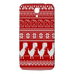 Red Dinosaur Star Wave Chevron Waves Line Fabric Animals Samsung Galaxy Mega I9200 Hardshell Back Case by Mariart