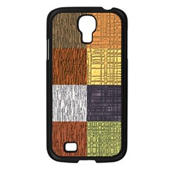 Blocky Filters Yellow Brown Purple Red Grey Color Rainbow Samsung Galaxy S4 I9500/ I9505 Case (black) by Mariart