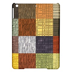 Blocky Filters Yellow Brown Purple Red Grey Color Rainbow Ipad Air Hardshell Cases by Mariart