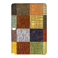 Blocky Filters Yellow Brown Purple Red Grey Color Rainbow Samsung Galaxy Tab Pro 12 2 Hardshell Case by Mariart