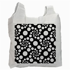 Pattern Recycle Bag (one Side) by Valentinaart