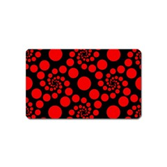 Pattern Magnet (name Card) by Valentinaart