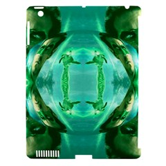 Green Lantern 3d Effect Apple Ipad 3/4 Hardshell Case (compatible With Smart Cover) by 3Dbjvprojats