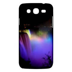 Niagara Falls Dancing Lights Colorful Lights Brighten Up The Night At Niagara Falls Samsung Galaxy Mega 5 8 I9152 Hardshell Case  by Simbadda