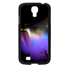 Niagara Falls Dancing Lights Colorful Lights Brighten Up The Night At Niagara Falls Samsung Galaxy S4 I9500/ I9505 Case (black) by Simbadda