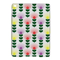 Floral Wallpaer Pattern Bright Bright Colorful Flowers Pattern Wallpaper Background Ipad Air 2 Hardshell Cases by Simbadda