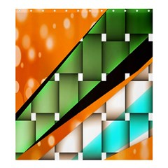 Abstract Wallpapers Shower Curtain 66  X 72  (large)