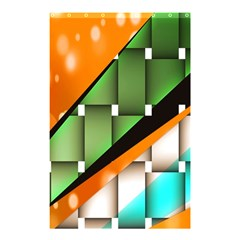 Abstract Wallpapers Shower Curtain 48  X 72  (small)