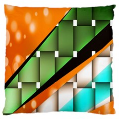 Abstract Wallpapers Large Cushion Case (two Sides) by Simbadda