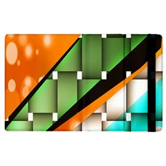 Abstract Wallpapers Apple Ipad 3/4 Flip Case by Simbadda