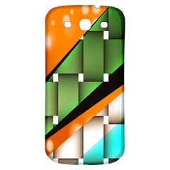Abstract Wallpapers Samsung Galaxy S3 S Iii Classic Hardshell Back Case by Simbadda