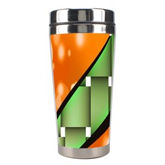 Abstract Wallpapers Stainless Steel Travel Tumblers by Simbadda