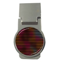 Colorful Venetian Blinds Effect Money Clips (round)  by Simbadda