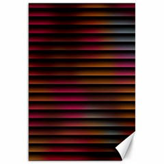 Colorful Venetian Blinds Effect Canvas 20  X 30   by Simbadda