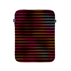 Colorful Venetian Blinds Effect Apple Ipad 2/3/4 Protective Soft Cases by Simbadda