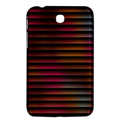 Colorful Venetian Blinds Effect Samsung Galaxy Tab 3 (7 ) P3200 Hardshell Case  by Simbadda