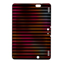 Colorful Venetian Blinds Effect Kindle Fire Hdx 8 9  Hardshell Case by Simbadda