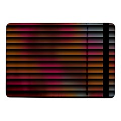 Colorful Venetian Blinds Effect Samsung Galaxy Tab Pro 10 1  Flip Case by Simbadda