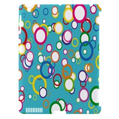 Circles Abstract Color Apple Ipad 3/4 Hardshell Case (compatible With Smart Cover) by Simbadda