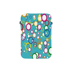 Circles Abstract Color Apple Ipad Mini Protective Soft Cases by Simbadda