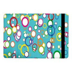 Circles Abstract Color Samsung Galaxy Tab Pro 10 1  Flip Case by Simbadda