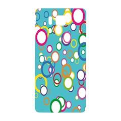 Circles Abstract Color Samsung Galaxy Alpha Hardshell Back Case by Simbadda