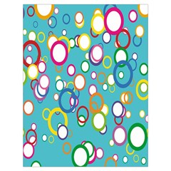 Circles Abstract Color Drawstring Bag (large) by Simbadda
