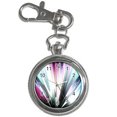 Flower Petals Abstract Background Wallpaper Key Chain Watches by Simbadda