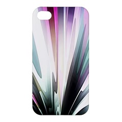 Flower Petals Abstract Background Wallpaper Apple Iphone 4/4s Hardshell Case by Simbadda