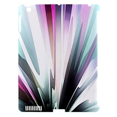 Flower Petals Abstract Background Wallpaper Apple Ipad 3/4 Hardshell Case (compatible With Smart Cover) by Simbadda