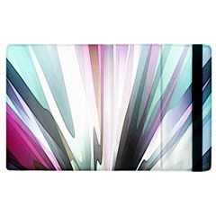 Flower Petals Abstract Background Wallpaper Apple Ipad 3/4 Flip Case by Simbadda