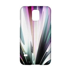Flower Petals Abstract Background Wallpaper Samsung Galaxy S5 Hardshell Case  by Simbadda