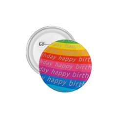 Colorful Happy Birthday Wallpaper 1.75  Buttons