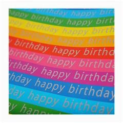 Colorful Happy Birthday Wallpaper Medium Glasses Cloth