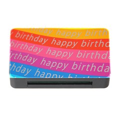 Colorful Happy Birthday Wallpaper Memory Card Reader with CF