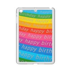 Colorful Happy Birthday Wallpaper iPad Mini 2 Enamel Coated Cases