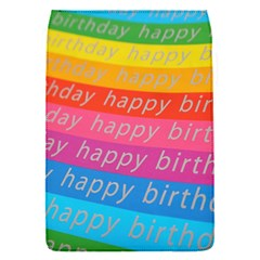 Colorful Happy Birthday Wallpaper Flap Covers (S)