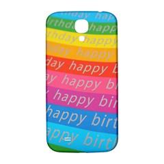 Colorful Happy Birthday Wallpaper Samsung Galaxy S4 I9500/I9505  Hardshell Back Case