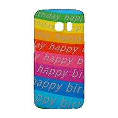Colorful Happy Birthday Wallpaper Galaxy S6 Edge