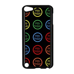 Happy Birthday Colorful Wallpaper Background Apple Ipod Touch 5 Case (black) by Simbadda