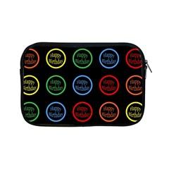 Happy Birthday Colorful Wallpaper Background Apple Ipad Mini Zipper Cases by Simbadda