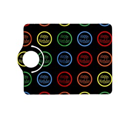 Happy Birthday Colorful Wallpaper Background Kindle Fire Hd (2013) Flip 360 Case by Simbadda