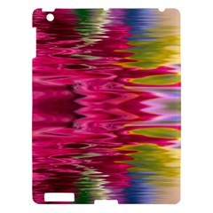 Abstract Pink Colorful Water Background Apple Ipad 3/4 Hardshell Case by Simbadda