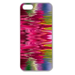 Abstract Pink Colorful Water Background Apple Seamless Iphone 5 Case (clear)