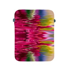 Abstract Pink Colorful Water Background Apple Ipad 2/3/4 Protective Soft Cases by Simbadda
