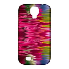 Abstract Pink Colorful Water Background Samsung Galaxy S4 Classic Hardshell Case (pc+silicone) by Simbadda