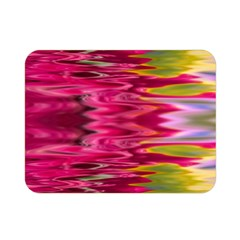 Abstract Pink Colorful Water Background Double Sided Flano Blanket (mini)  by Simbadda