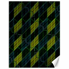Futuristic Dark Pattern Canvas 18  X 24   by dflcprints