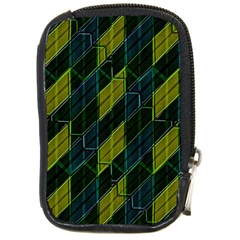 Futuristic Dark Pattern Compact Camera Cases by dflcprints